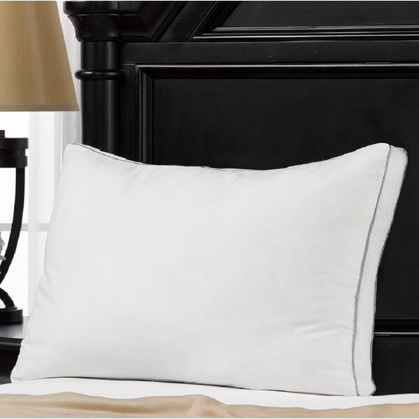 100% Cotton Mesh Gusseted Memory Fiber Pillow by Alwyn Home